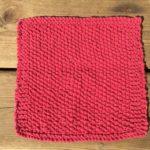 今日の模様編み 5