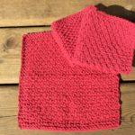今日の模様編み 7