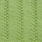 今日の模様編み 19 & 日本で買った毛糸 1