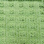 今日の模様編み 25