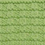 今日の模様編み 26 〜 編み直した