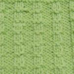 今日の模様編み 28