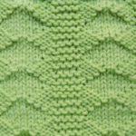 今日の模様編み 33