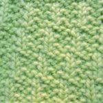 今日の模様編み 31
