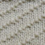 今日の模様編み 74