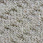 今日の模様編み  76