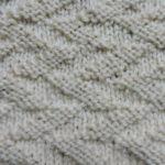 今日の模様編み 82