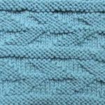 今日の模様編み 83 仕事が決まりましたよー