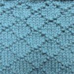 今日の模様編み  84