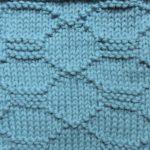 今日の模様編み  85 〜 引く手あまた?