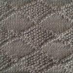 今日の模様編み 86