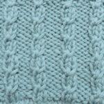 今日の模様編み 91