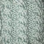 今日の模様編み 97