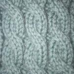 今日の模様編み 100