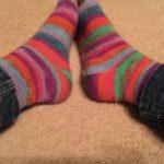 今日の靴下
